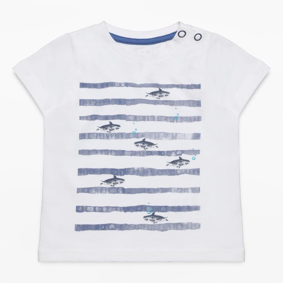 ESPRIT Poikien T-paita valkoinen