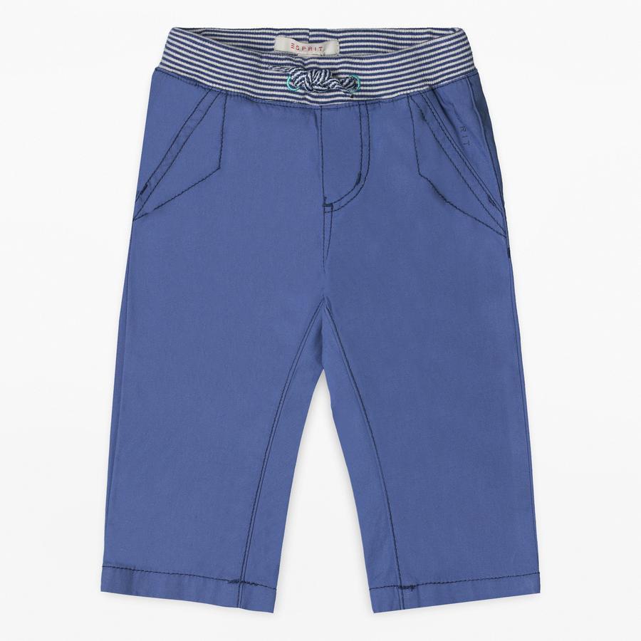ESPRIT Boys Spodnie w kolorze pastelowego błękitu.