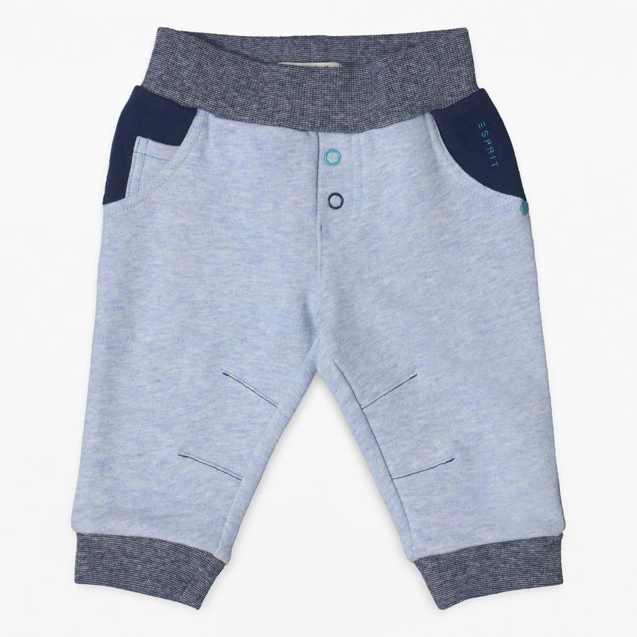 ESPRIT Boys Pantalon bleu bruyère clair