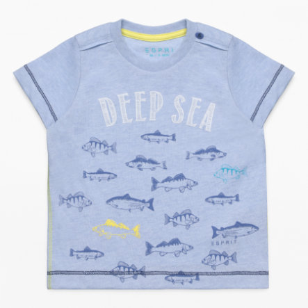 ESPRIT Boys T-Shirt bleu bruyère clair