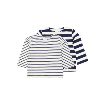 Name It Boys Sweatshirt 2 stk Nbmdango snow white