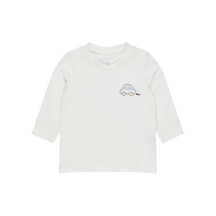 NAME IT Poikien pitkähihainen paita Nbmermaze lumivalkoinen