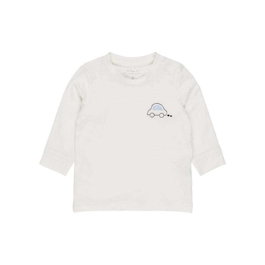 name it Boys Shirt met lange mouwen Nbmermaze sneeuwwitte Nbmermaze