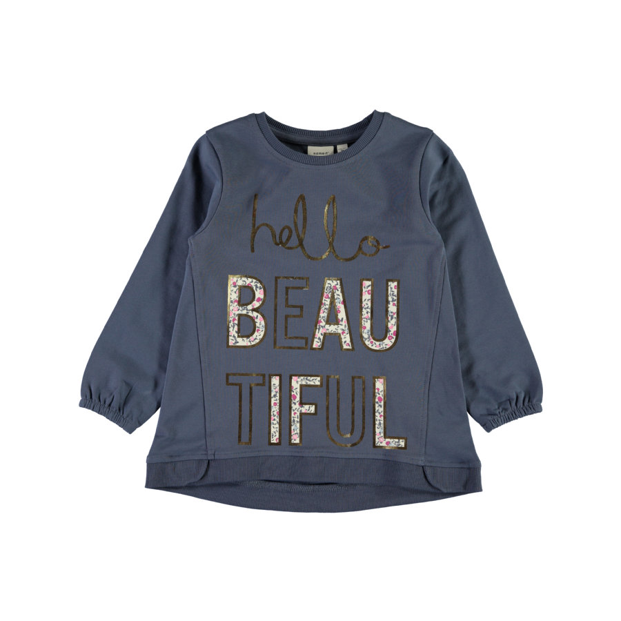 name it Girl s Sweatshirt Nmferbanna vintage indigo