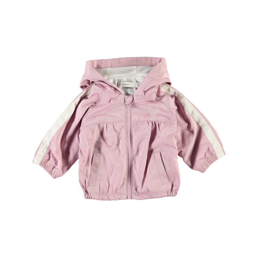 name it Girls Jacke Nbfmine dawn pink