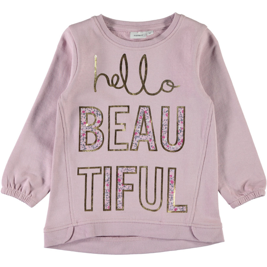 name it Girl s Sweatshirt Nmferbanna Nmferbanna rose aube