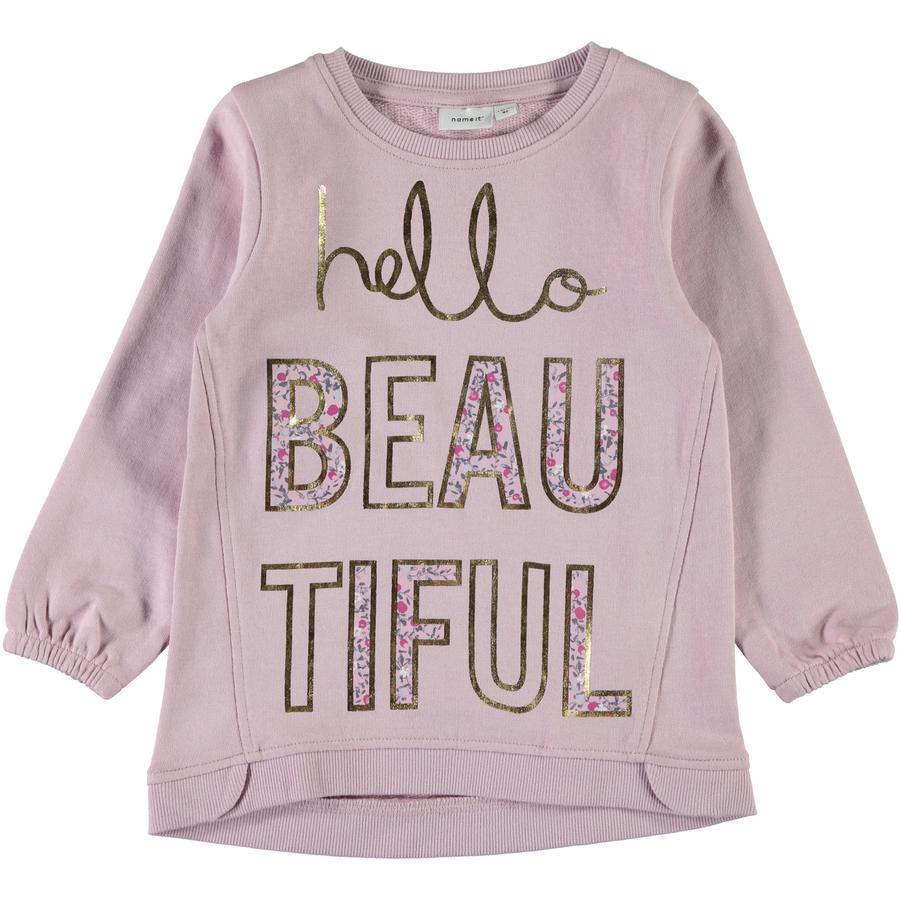 name it Girls Sweatshirt Nmferbanna dawn pink