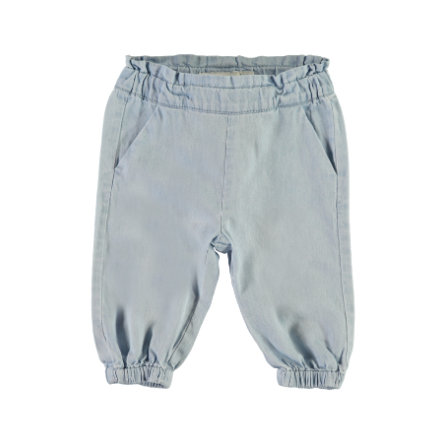 name it Girl s Pantalones de chándal Masoya azul claro denim