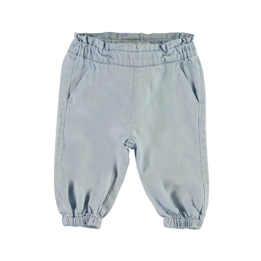 name it Girl s Pantalon de survêtement Masoya bleu clair en denim