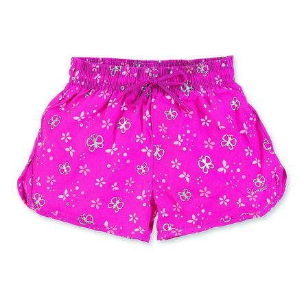 Sterntaler Girls koupací šortky s rozparkem magenta