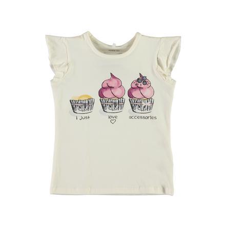 name it Girl s T-Shirt Cupcake Nmferdanna blanco nieve