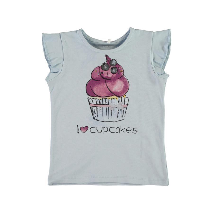 name it Girl s T-Shirt Nmferdanna cachemire bleu Nmferdanna