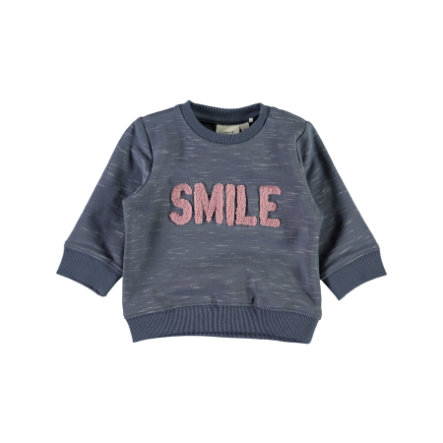 name it Girl s Sweatshirt Nbfermai vintage indigo