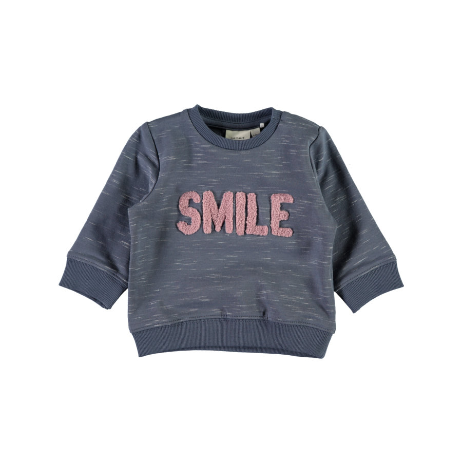 name it Girls Sweatshirt Nbfermai vintage indigo