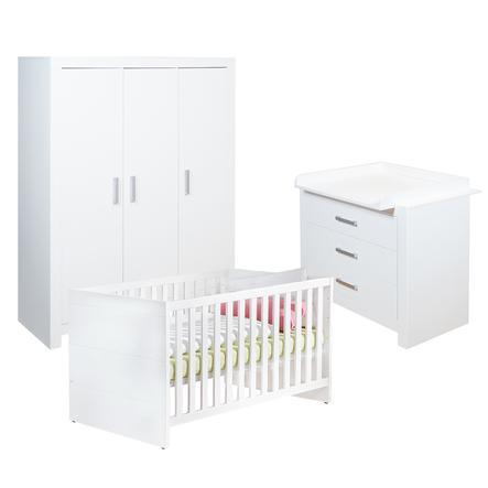 Paidi Kinderzimmer Fiona 3 Turig Schmal Griffe Glanzend Babymarkt De