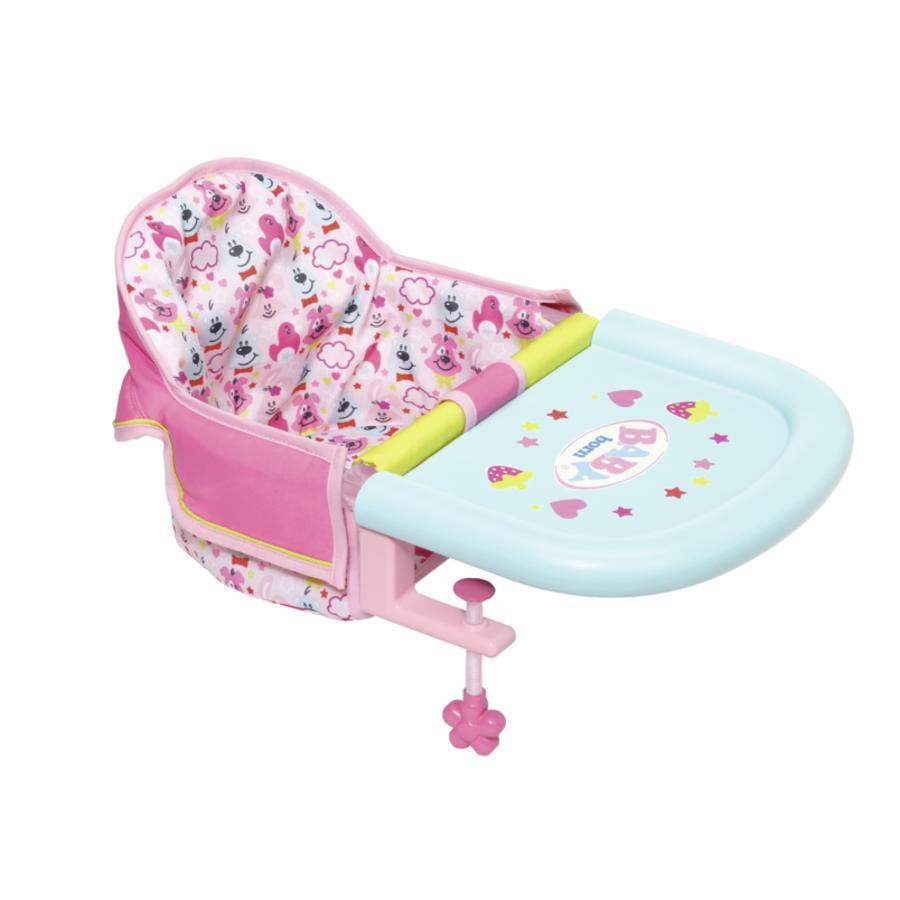 Zapf Creation BABY born® Jídelní židlička s uchycením na stůl