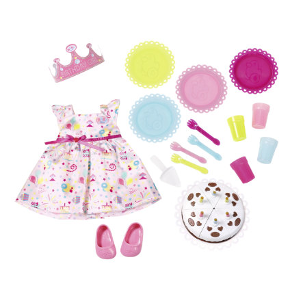 Zapf Creation BABY born® Deluxe Party Set