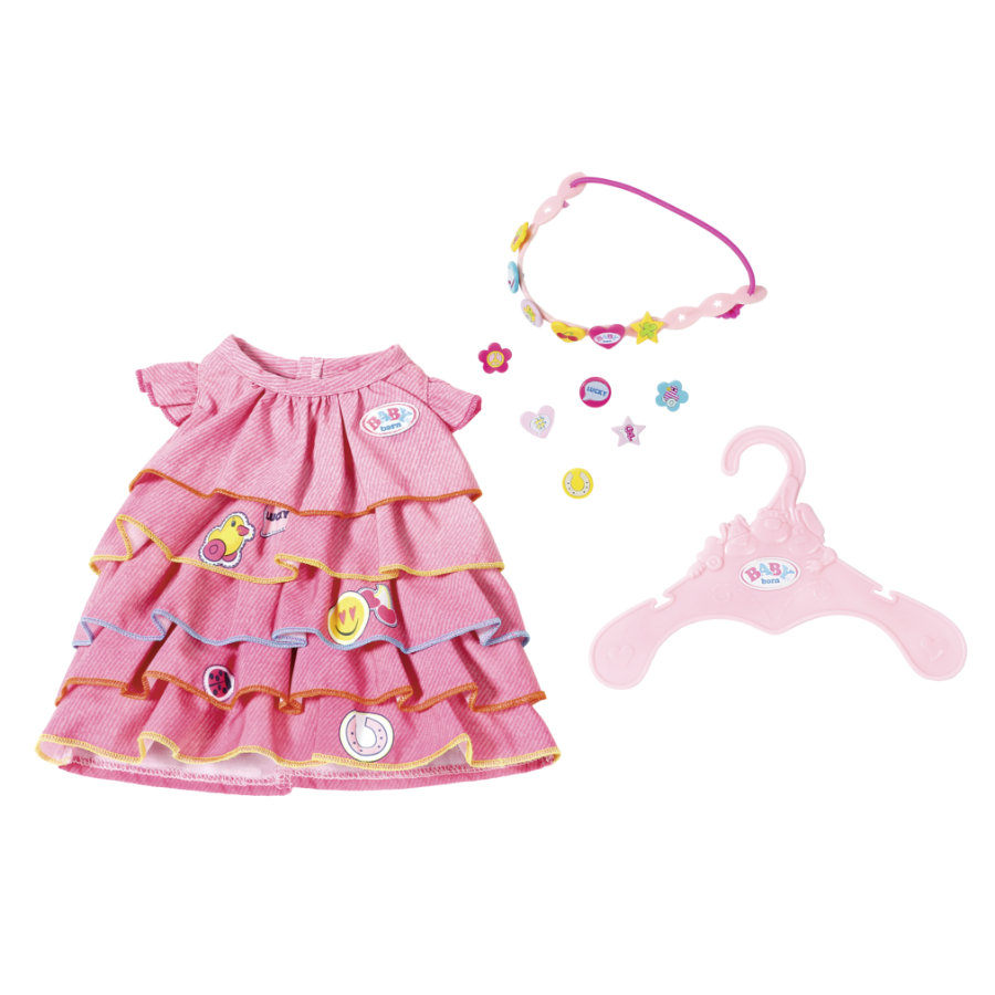Zapf Creation BABY born® Sommerkleid Set mit Pins -