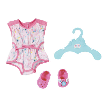 Zapf Creation BABY born® Shorty Pyjama mit Clogs