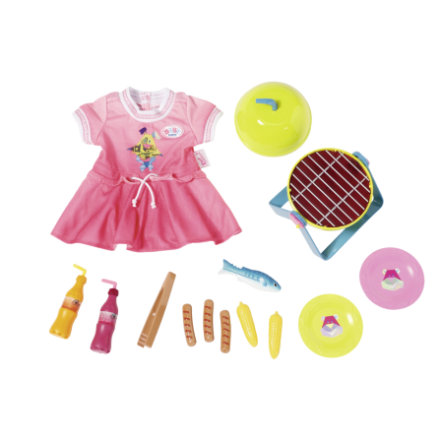 Zapf Creation BABY born® Play&Fun Grillspass Set