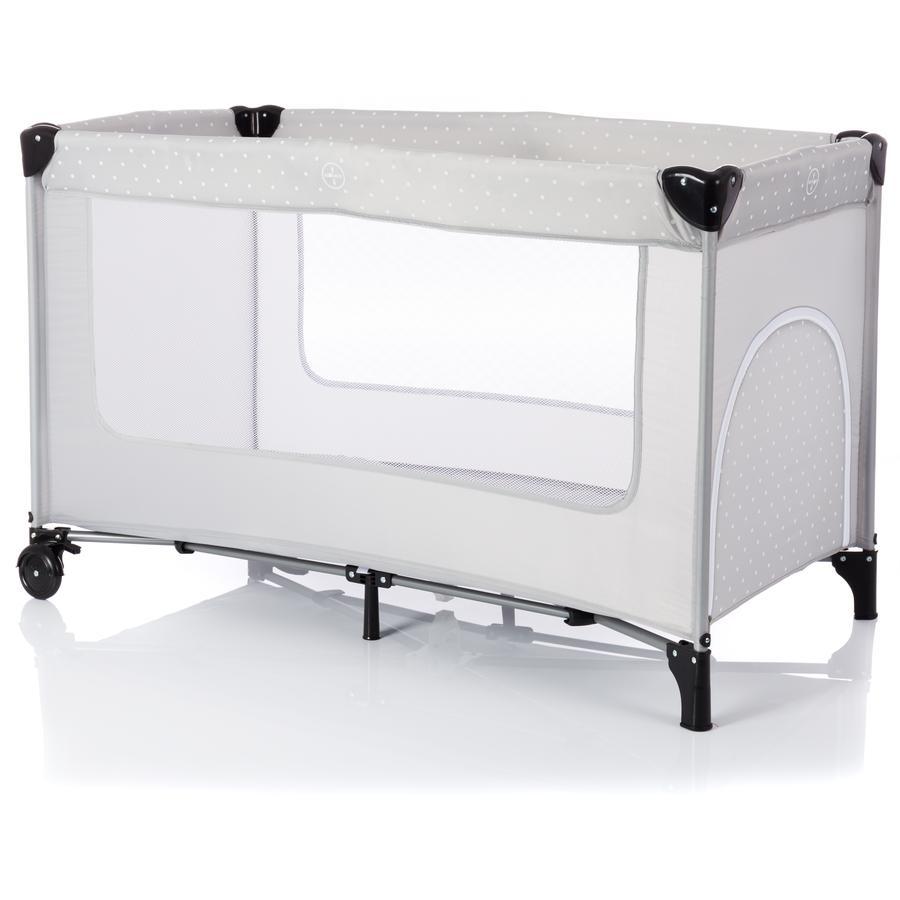 fillikid lit parapluie standard pois gris. Black Bedroom Furniture Sets. Home Design Ideas