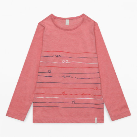 ESPRIT Girls Langarmshirt heather coral
