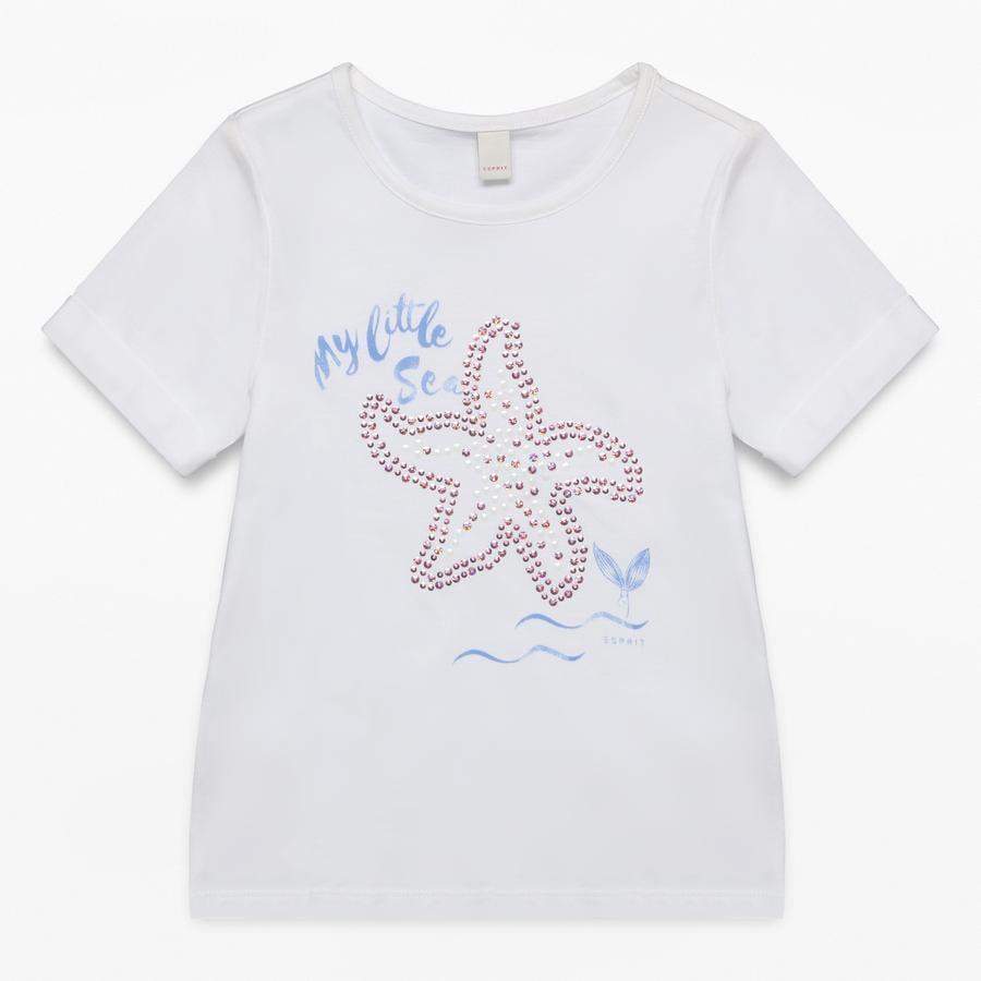 ESPRIT Girl s T-Shirt bianco