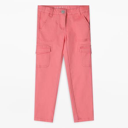 ESPRIT Girl s Pantalones de coral brillante