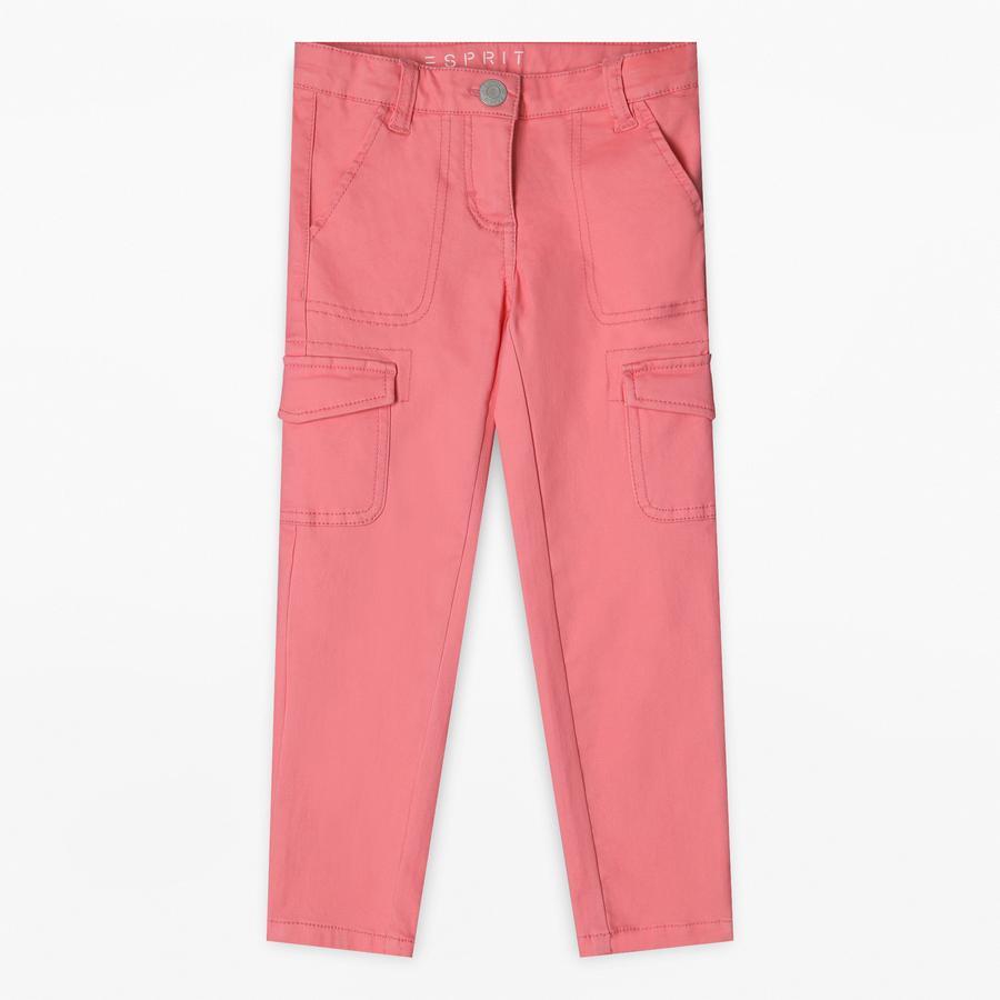 ESPRIT Girl Spodnie z jasnym koralem.