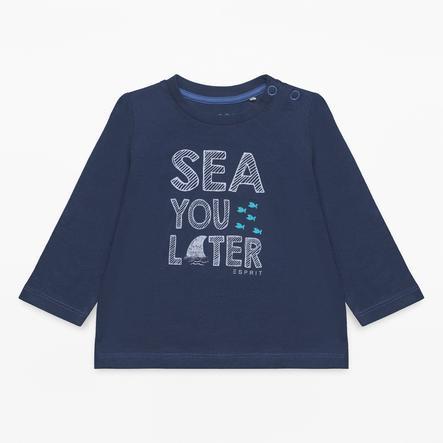 ESPRIT Boys Camicia manica lunga blu marino