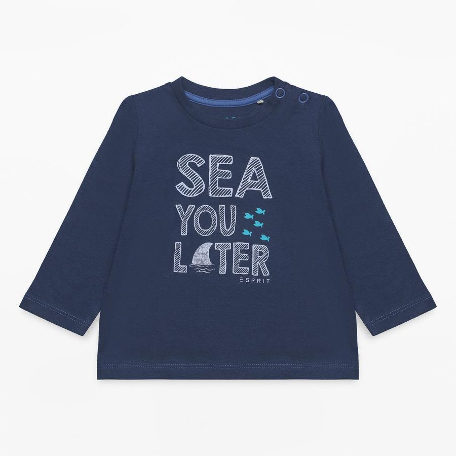 ESPRIT Boys Langarmshirt marine blue