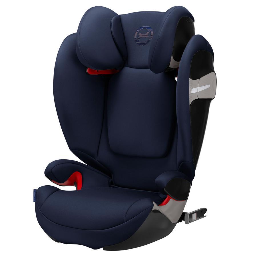 cybex GOLD Kindersitz Solution S-Fix Denim Blue-blue