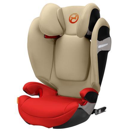 cybex GOLD Kindersitz Solution S-Fix Autumn Gold-burnt red