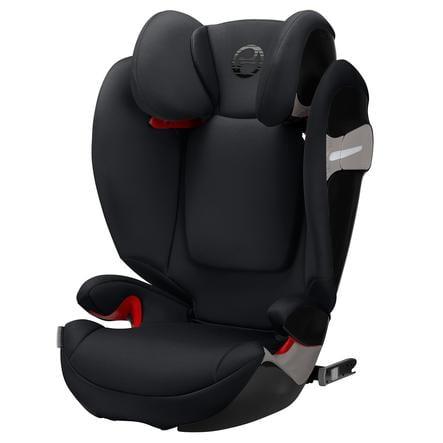 cybex GOLD Kindersitz Solution S-Fix Lavastone Black-black
