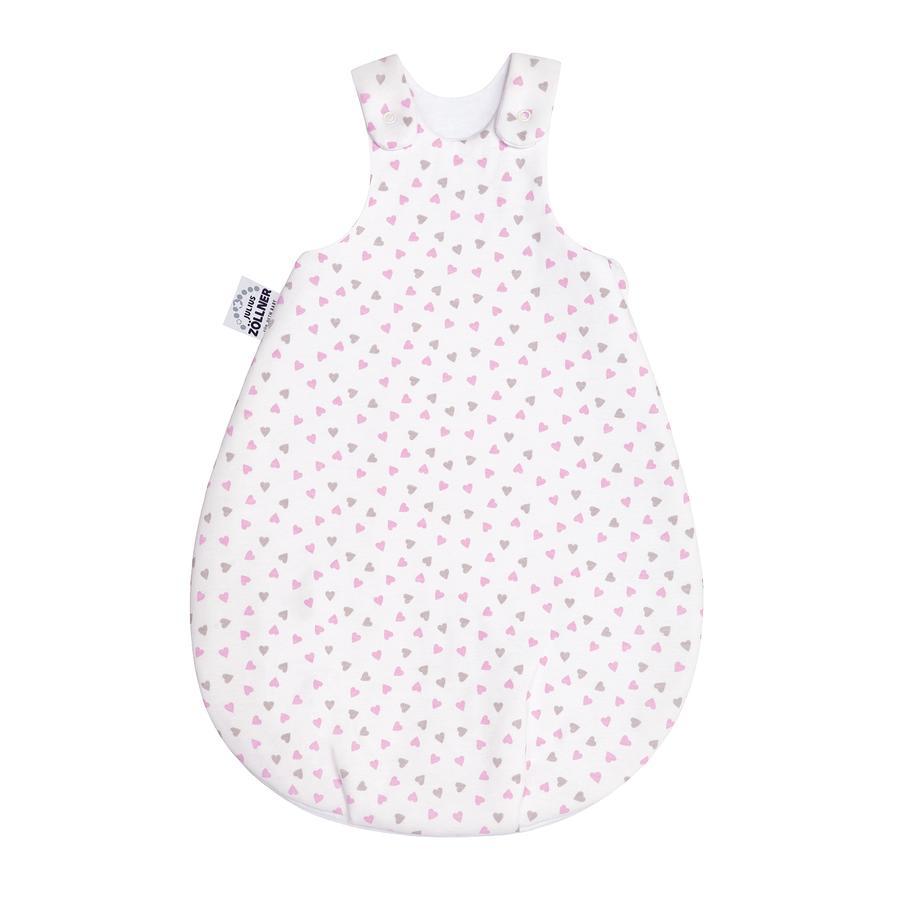 JULIUS ZÖLLNER Koon Serce śpiwora dla niemowląt pink