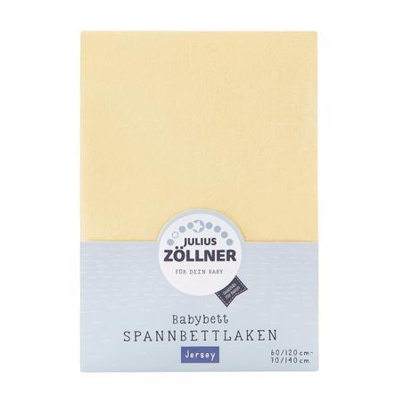 JULIUS ZÖLLNER Spannbetttuch Jersey vanille