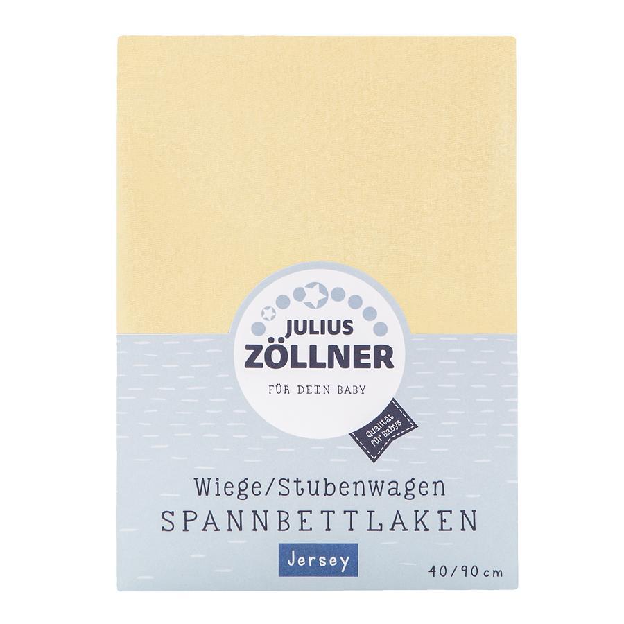JULIUS ZÖLLNER Spannbetttuch Jersey für Wiege vanille