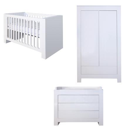 KIDSMILL Kinderzimmer Somero Hochglanz 2-türig