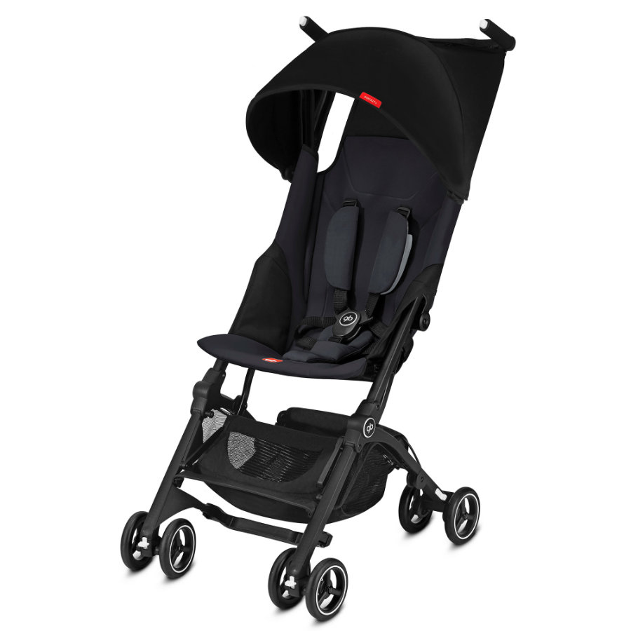 gb GOLD Buggy Pockit Plus Satin Black - black