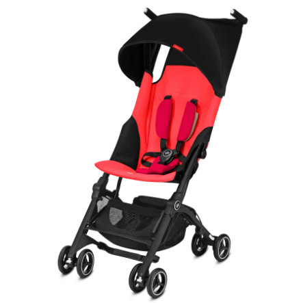 gb GOLD Buggy Pockit Plus Cherry Red - red