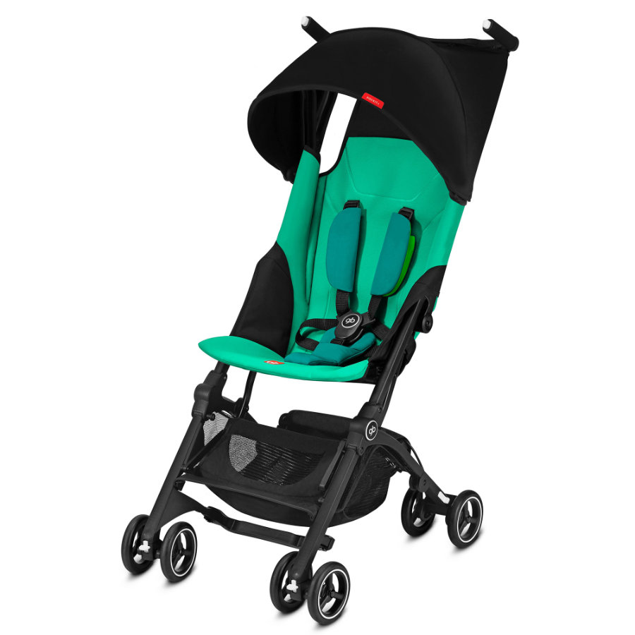 gb GOLD Buggy Pockit Plus Laguna Blue - turquoise