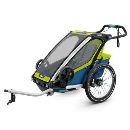 THULE Kinderfahrradanhänger Chariot Sport 1 Chartreuse