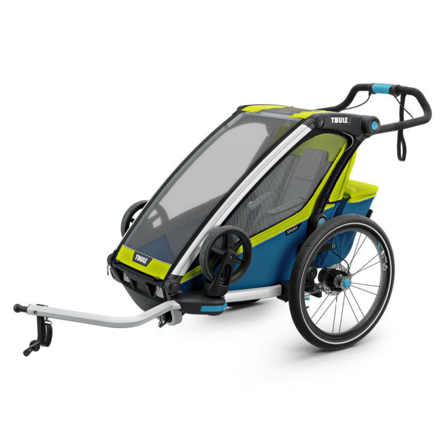Thule Cykelvagn Sport 1 Chartreuse