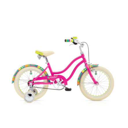 "Electra Kinderfahrrad - Water Lily 1 Girls 16"", Bright Pink"