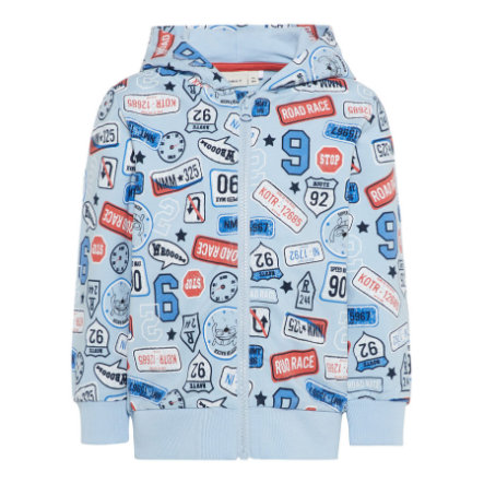 name it Boys Sweatjacke Nmmerland cashmere blue
