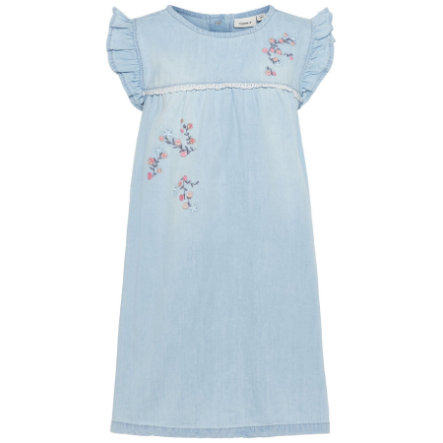 name it Girls Kleid Nmfasoya light blue denim