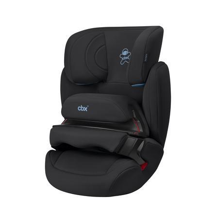 cbx Fotelik samochodowy Aura Fix Cozy Black - kolor czarny