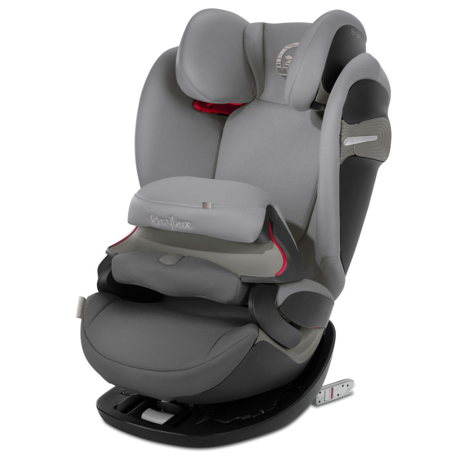 cybex GOLD Kindersitz Pallas S-Fix Manhattan Grey-mid grey