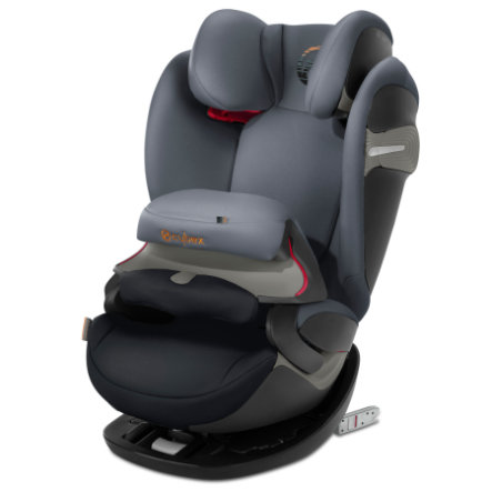 cybex GOLD Kindersitz Pallas S-Fix Pepper Black-dark grey