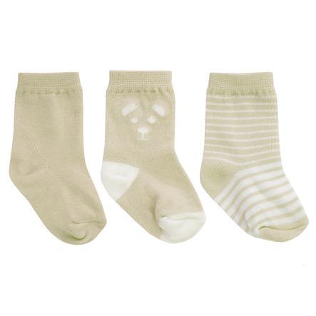 JACKY Lot de 3 chaussettes pour bébé beige